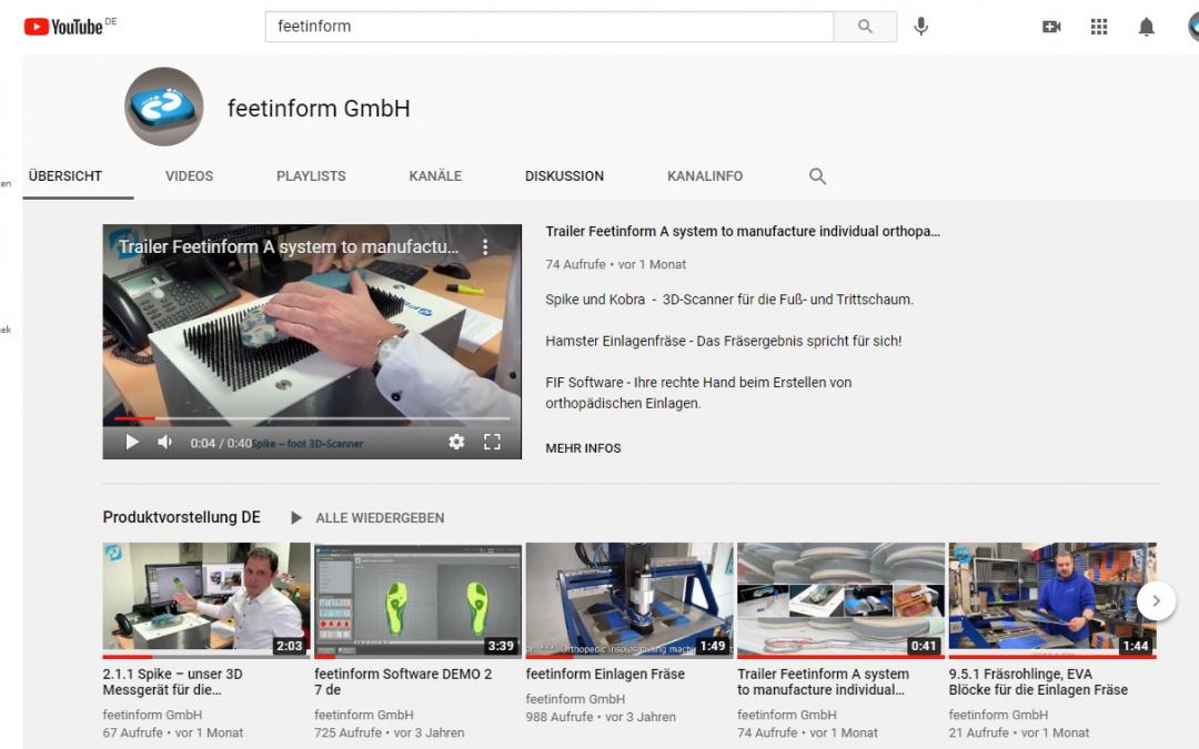 feetinform — YouTube канал