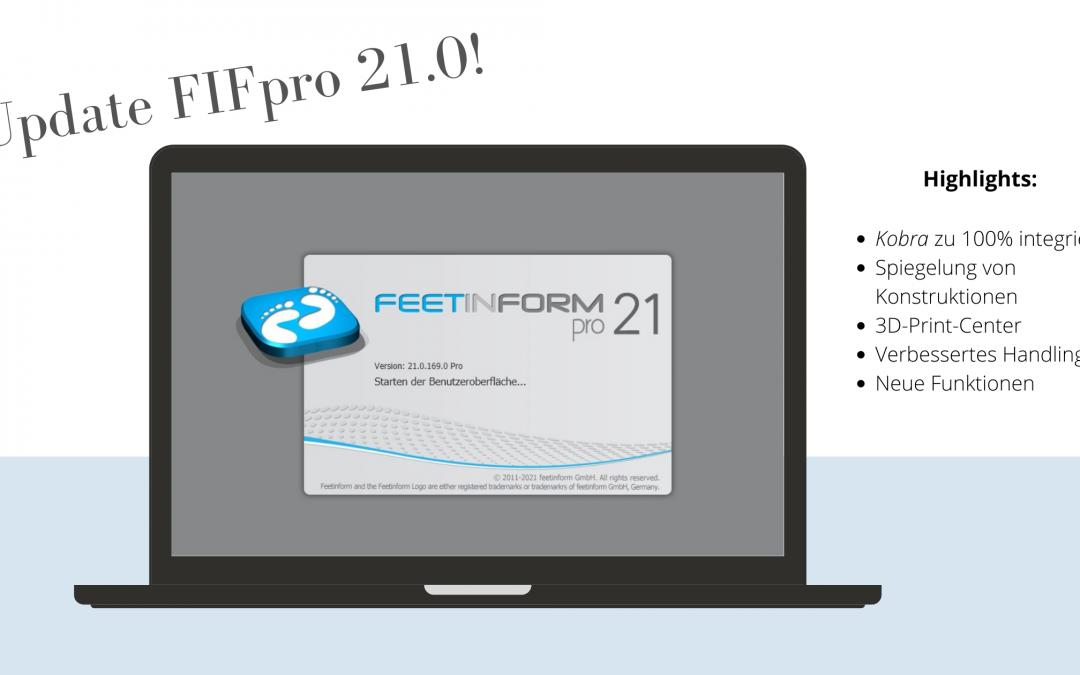 Neue Software-Version FIFpro 21.0.